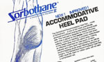 Accommodative Heel Pad
